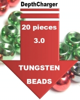 Depth Charger Tungsten Beads - 20 Pack