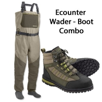 Orvis Ecounter Wader Boots Combo