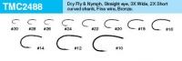 Tiemco TMC 2488 Dry Fly & Nymph